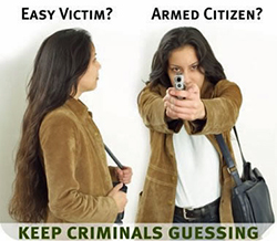 WomanConcealedCarryGuessing